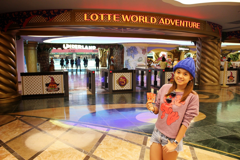 吃吃喝喝看世界 Lotte World